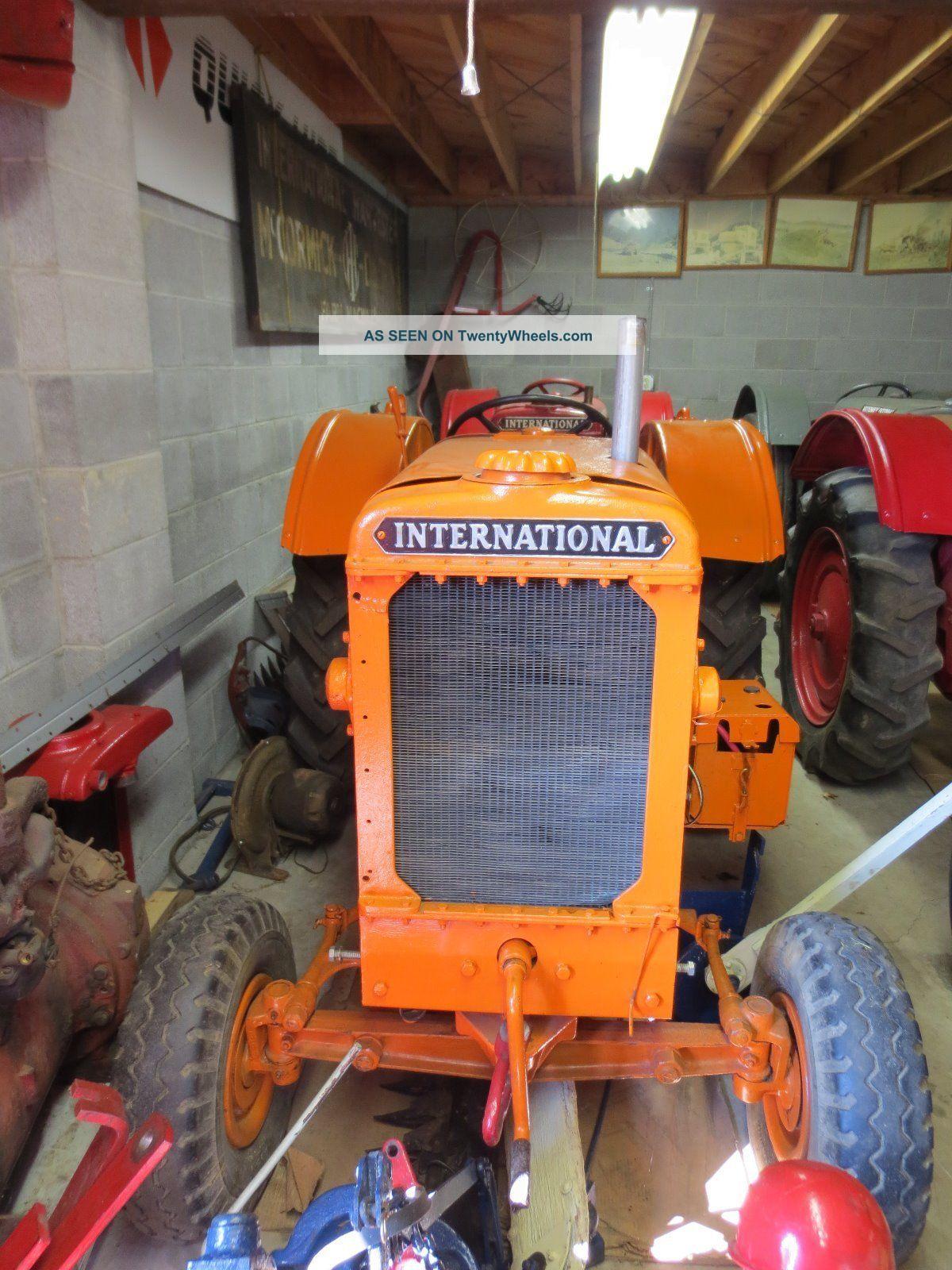1935 International Harvester Ihc Mccormick Deering I - 12 Industrial Tractor Tractors photo