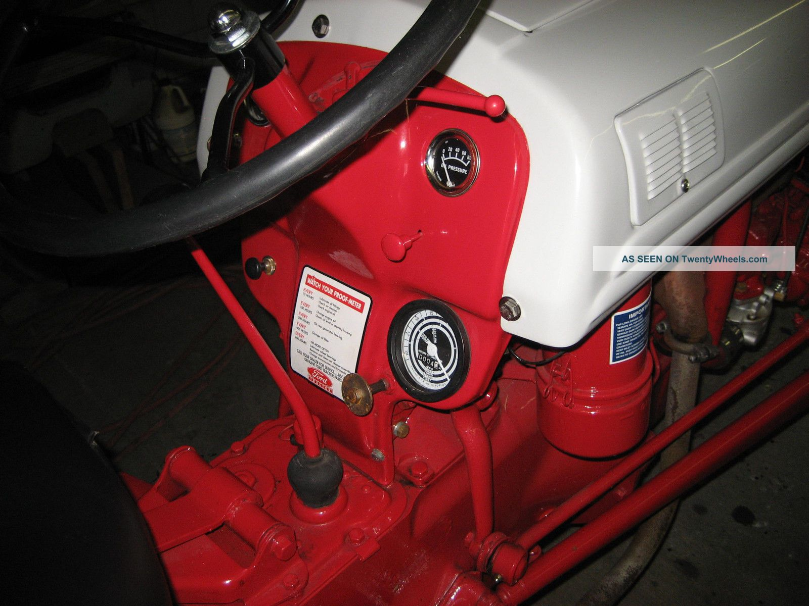 Ford N Tractor Very Rare Restored Sherman High Low Range Transmission Lgw