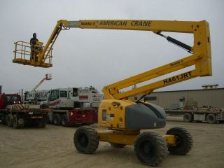 Haulotte Ha61jrt Diesel 4wd Boom Lift photo