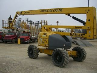 Haulotte Ha80jrt Diesel 4wd Boom Lift photo