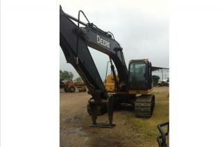 2008 John Deere 200d Lc Excavator With 3849 Hours photo