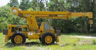 Galion 150a - 15 Ton - 4x4 Rough All Terrain Crane.  60 ' Reach.  3435 Hours. photo