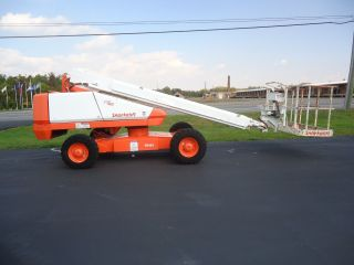 Snorkel Tb42 Boom Lift Manlift Man Lift Aerial Boomlift Tb50 Jlg 400s S40 Genie photo