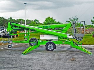 Nifty Tm50 Towable Lift,  56 ' Work Height,  28 ' Outreach,  Hyd Outriggers,  In Stock, photo