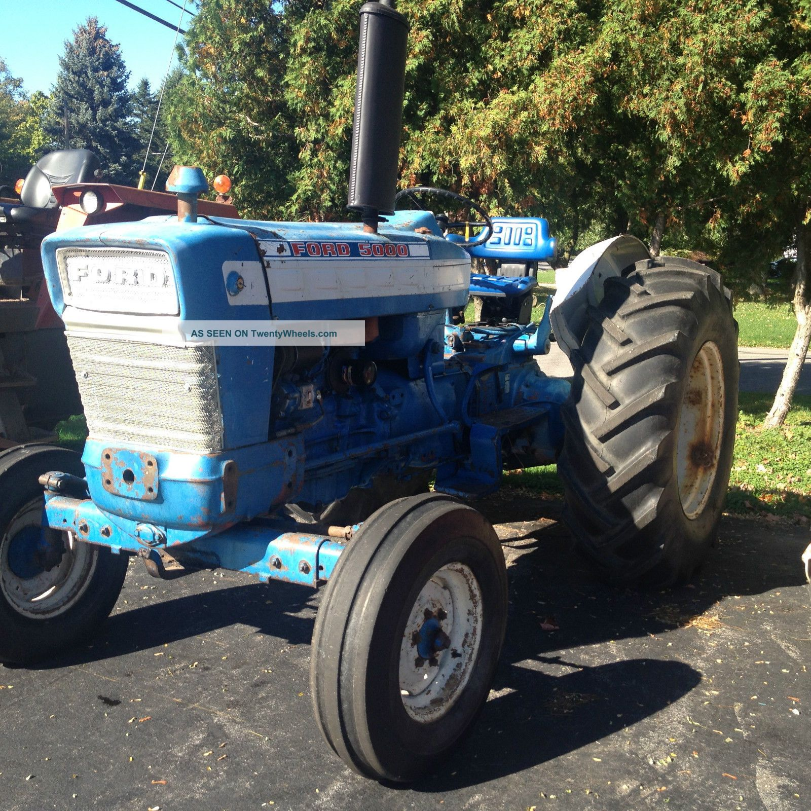 Ford 5000 Tractor Specs : Ford tractor