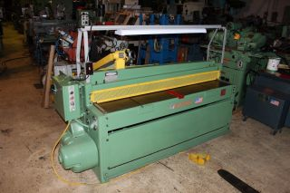 Famco 1472 6 ' X 14ga Shear - In/mm Front Operated Back Gauge 2 24