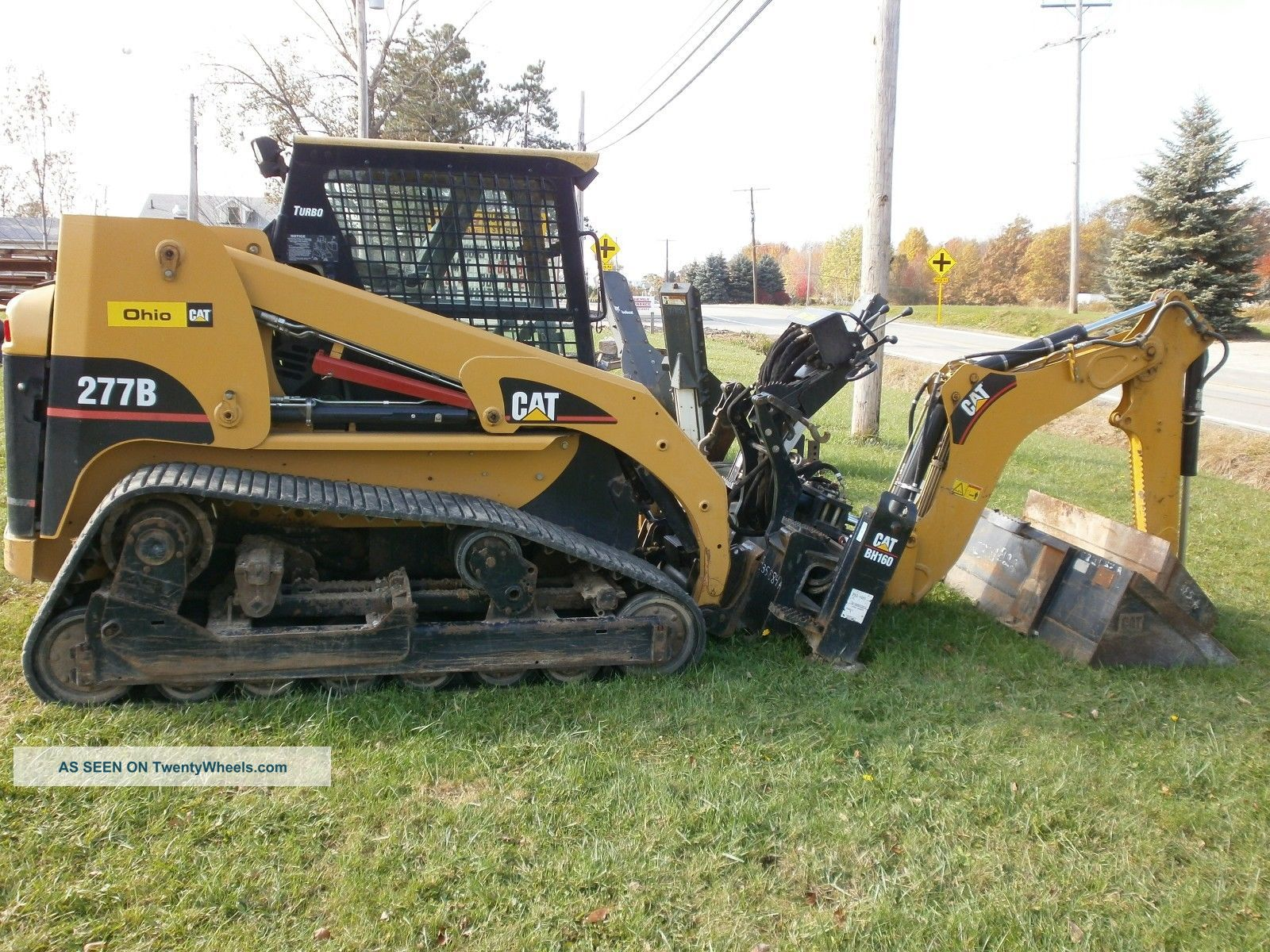 B Cat Skid Steer Specs