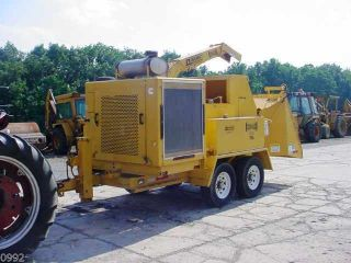 2009 Dynamic Ch565 Cone - Head Wood Chipper,  Only 338 Hours,  Cummins Diesel Large photo