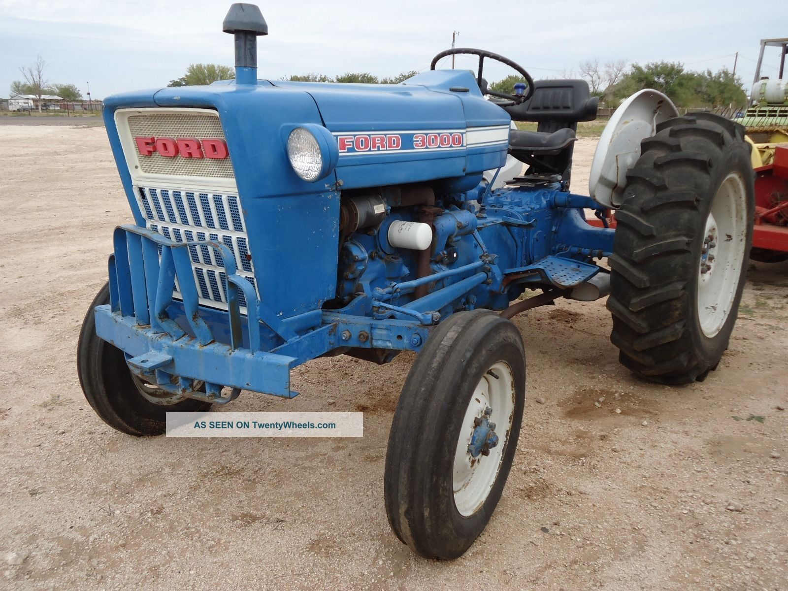 Ford Tractor Identification : Ford diesel tractor
