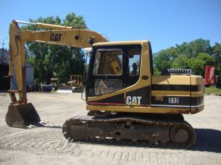 312 Caterpillar Excavator photo