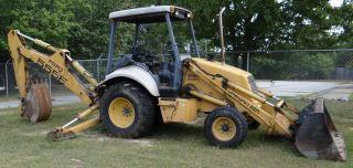 1998 Holland 555e Backhoe Loader - 12647 photo