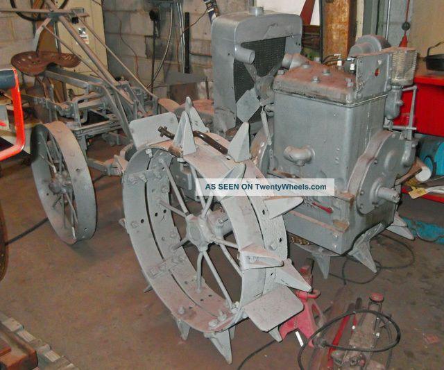 Antique Tractor Steel Wheels : Centaur antique tractor on steel wheels
