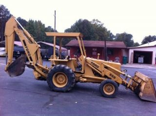 Ford Backhoe Loader 555 photo