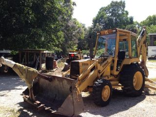 Ford 555b Backhoe And Loader 4wd photo