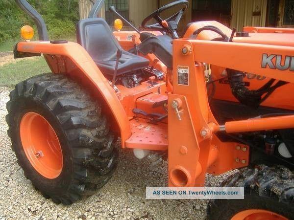 Kubota L2800 Hst Tractor La463 Front End Loader 4x4 L2900