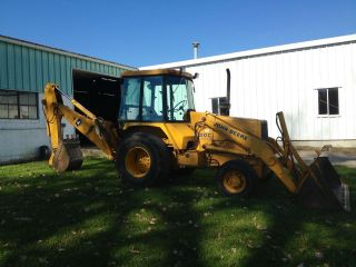John Deere 1991 310c Backhoe Loader photo