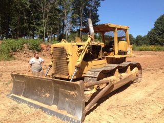 1974 Caterpillar D8h Crawler Dozer photo
