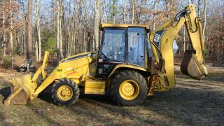 Caterpillar Backhoe 426c photo