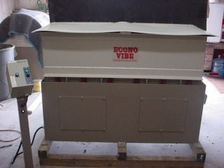 2011 Econo Vibe Tub Polisher With 3 Sizes Of Micro Brite Included photo