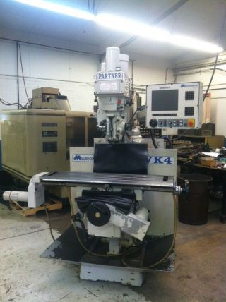 Milltronics Vk4 3 - Axis Cnc Vertical Mill Milling Machine photo