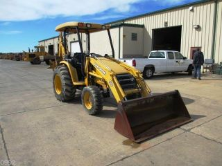 2009 John Deere 110 Tractor Loader Backhoe Only 1384 Hours photo
