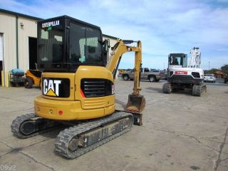 2010 Caterpillar 303.  5 Hydraulic Excavator,  Full Cab,  Air,  Heat,  Only 189 Hours photo