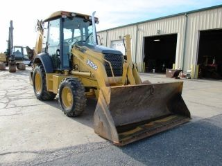2005 John Deere 310sg Tractor Loader Backhoe,  4x4,  Cab,  Extendahoe, photo