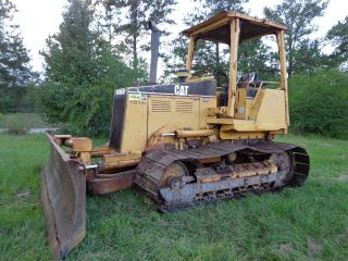 1997 Caterpillar D4c Lgp Crawler Dozer 18k Machine In Mississippi photo