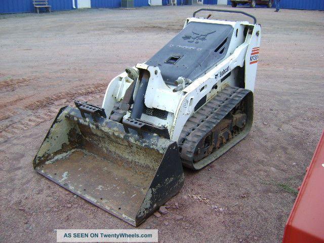 Bobcat Mini Skid Steer : Bobcat mt mini track skid steer loader