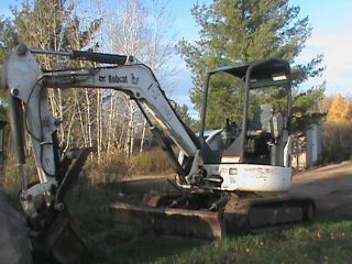 Bobcat 430 Zhs Fasttrack Mini Excavator photo