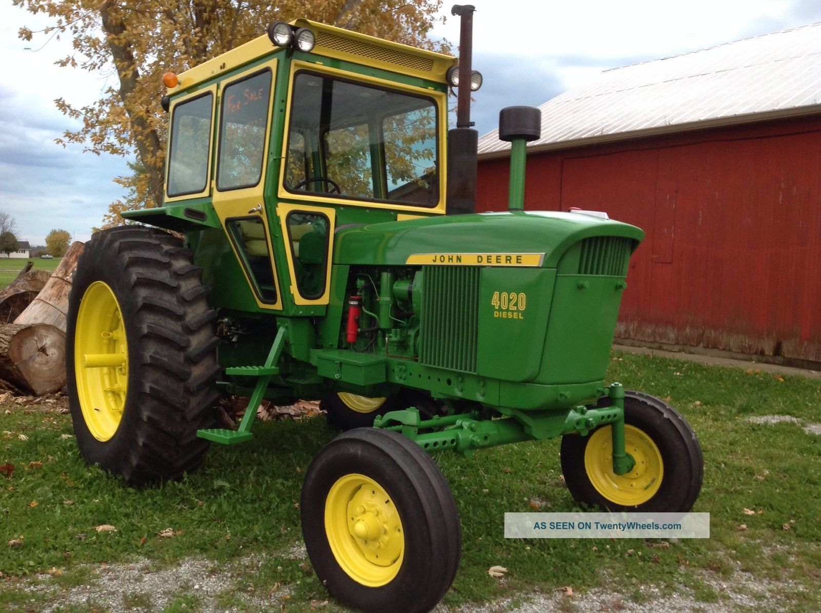 John Deere Tractor Shows : John deere tractor everything restored show ready