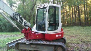 Takeuchi Excavator Tb 180 Fr photo