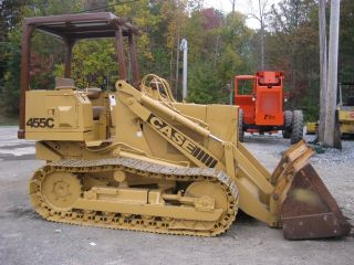 Case 455c Crawler Loader photo
