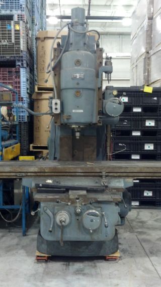 Cincinnati Vertical Milling Machine No.  6 Dual Power photo