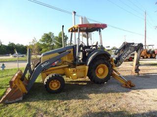 2007 John Deere 4wd Backhoe W/2500hrs & Aux - Hydraulics photo