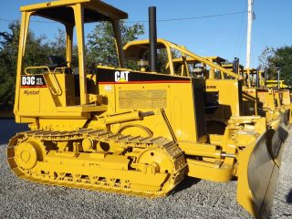 Caterpillar D3c Xl Series Lll Dozer Hystat photo