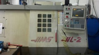1996 Haas Hl - 2 Cnc Lathe Turning Center Tailstock A2 - 6 Rigid Tap 6 Tool Holders photo