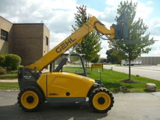 2008 Gehl Rs5 - 19 Compact Reach Forklift Telehandler Yanmar Turbo 5519 Mustang photo