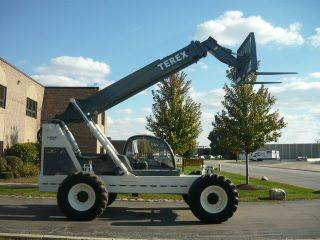 Terex Genie Th - 844c Telehandler Reach Forklift Telescopic John Deere Turbo Gth. photo