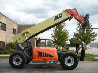 2007 Jlg G10 - 55a Reach Forklift Telehandler Gradall Cat Reachlift Skytrak photo