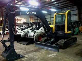 Volvo Ecr58 Mini Excavator - Year 2007 Jd John Deere Cat Case Bobcat photo