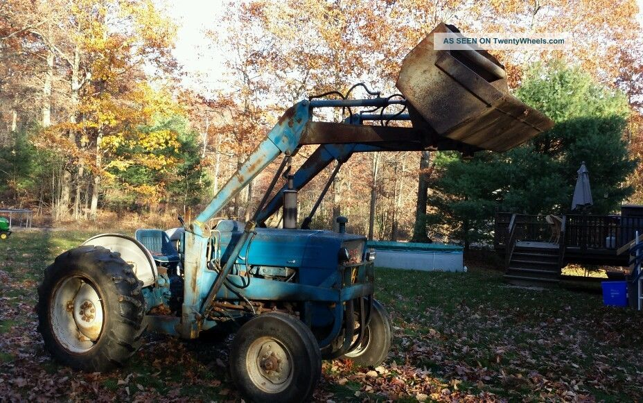 Ford 4500 Industrial Tractor Backhoe : Ford industrial tractor injector pump timing