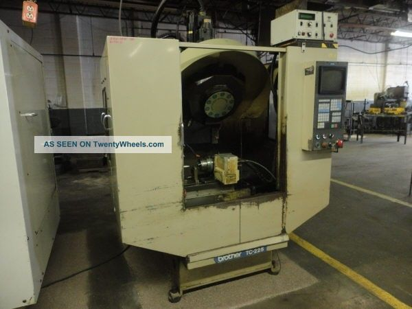 Tc225 Brother 10 - Positon 4 - Axis Cnc Tappping Center - 26952 Drilling & Tapping Machines photo