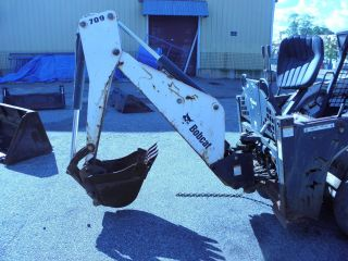 Backhoe Attachment For Bobcat photo