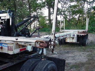 2002 Ferree Pt40 Pole Log Trailer photo