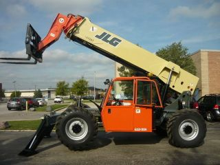 2007 Jlg G12 - 55a Reach Forklift Jlg Telehandler Telescopic Tl1255 Full Cab photo