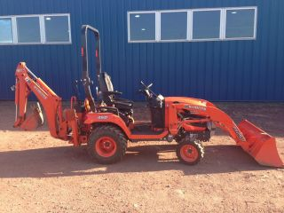2012 Kubota Bx25d Tractor Loader Backhoe Only 70 Hours photo