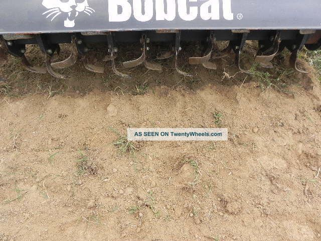 Landscape Rake For Skid Loader : Bobcat quot roto tiller attachment for skid steer
