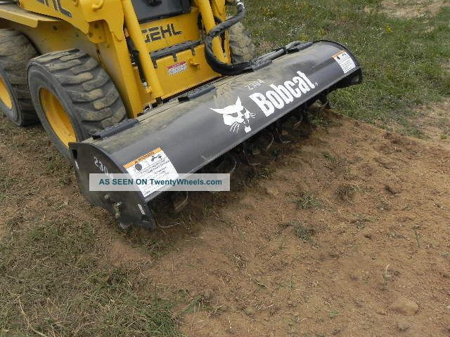 Landscape Rake For Bobcat : Bobcat quot roto tiller attachment for skid steer loader landscape