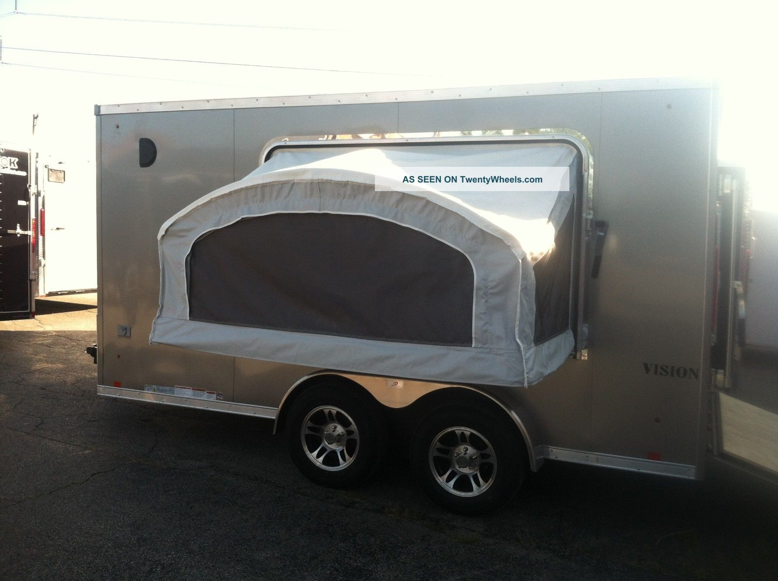 Enclosed Trailer With Fold Out Bed 2015 Home Design Ideas